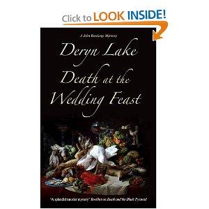 """""""Death at the Wedding Feast"""" by Deryn Lake"""