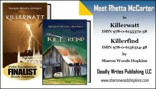 Killerwatt & Killerfind by Sharon Woods Hopkins