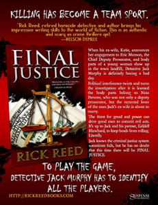 """""""Final Justice"""" by Rick Reed"""