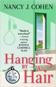 """Hanging By A Hair"" by Nancy J. Cohen"